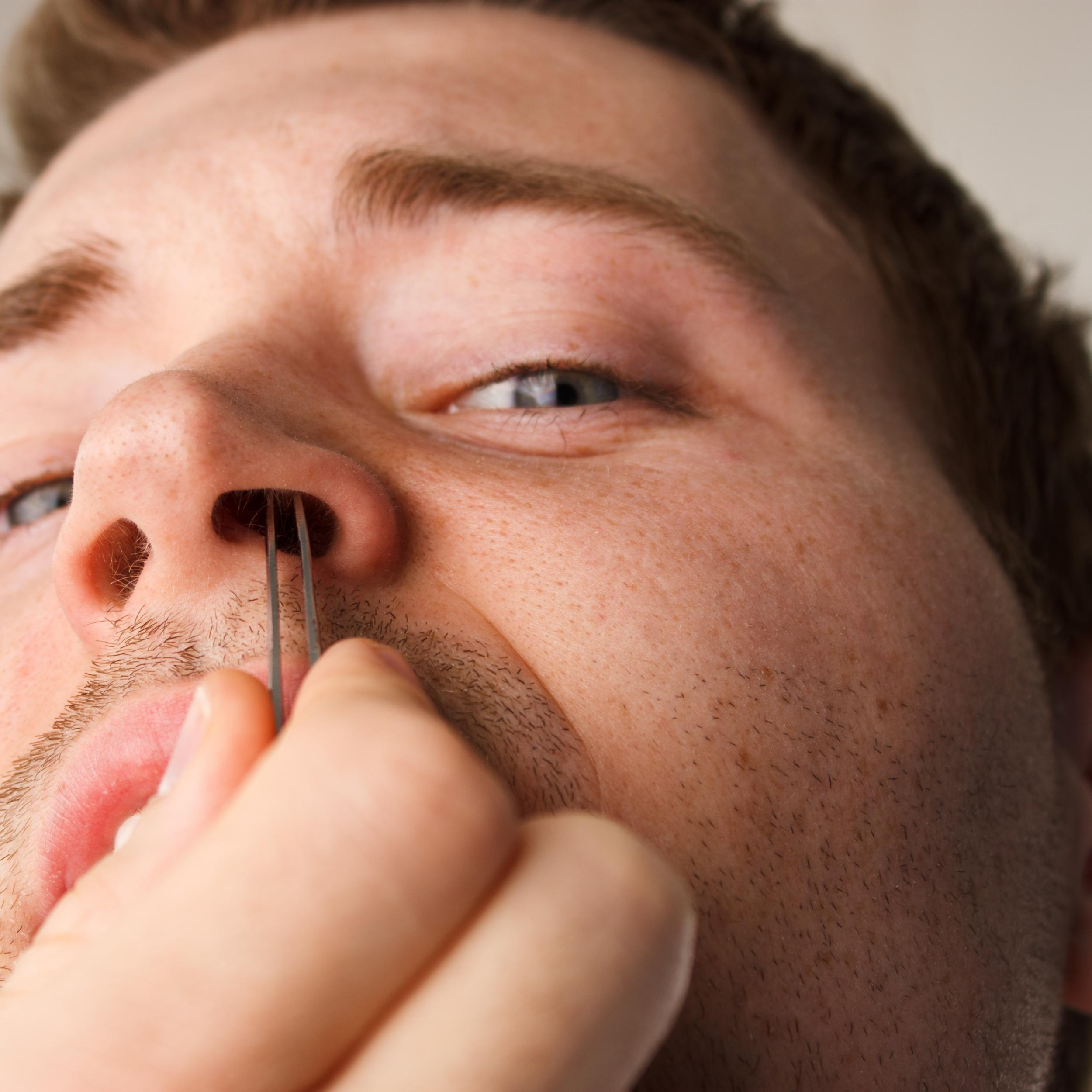 cancer inside tip of nose