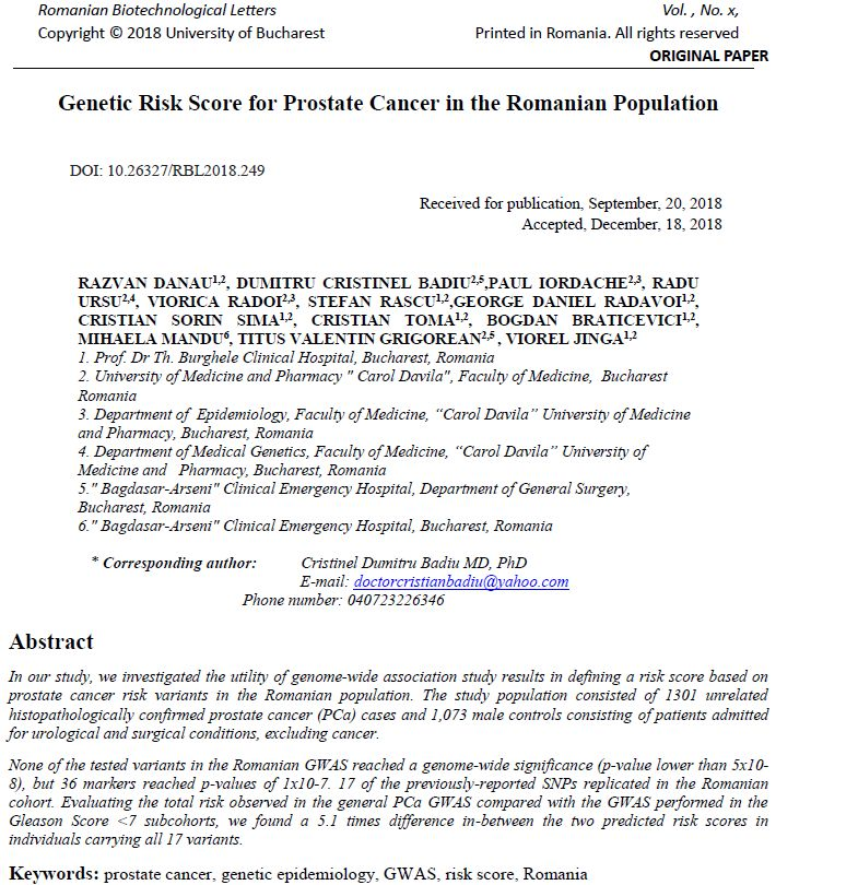 cancerul de prostata in romania papilloma of tongue icd 10