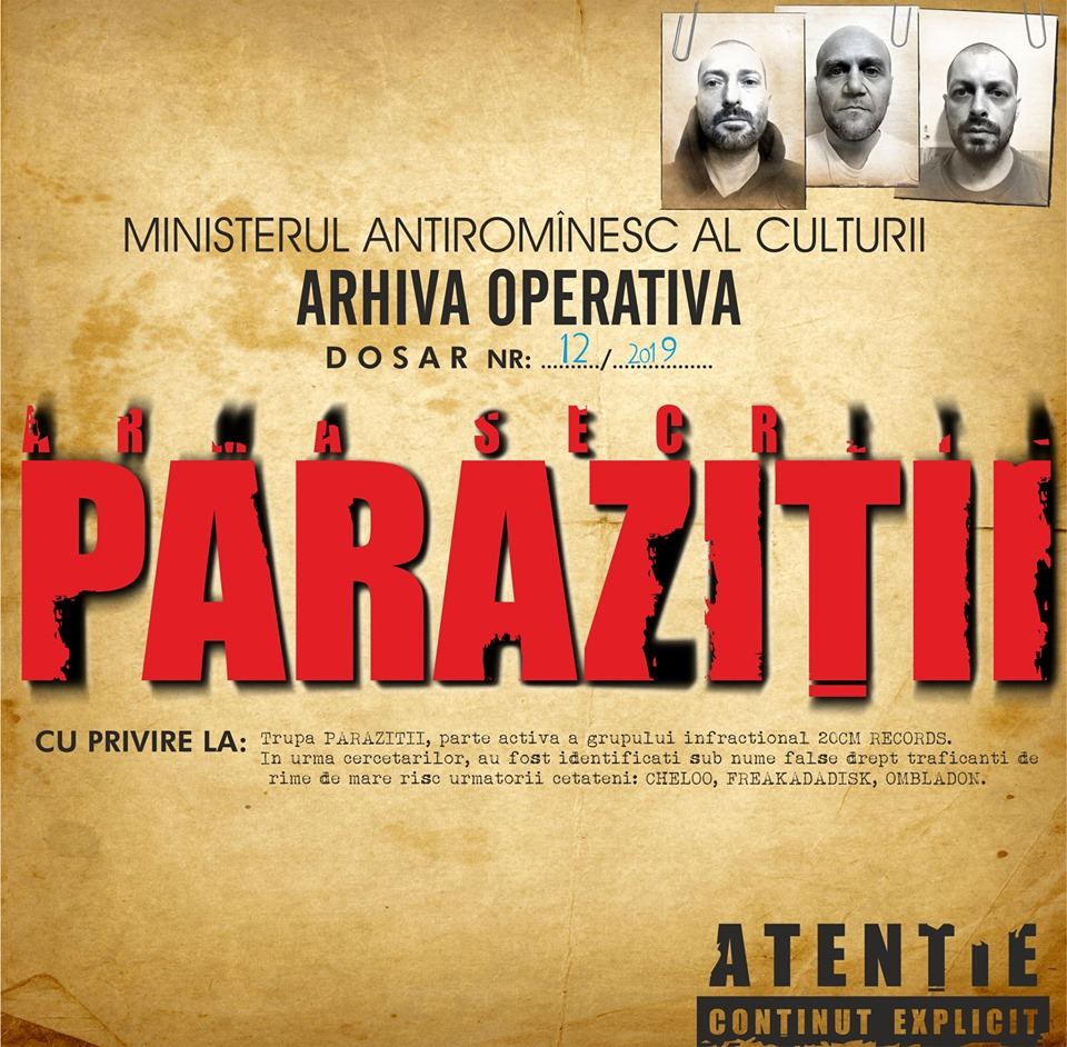 cd original parazitii)