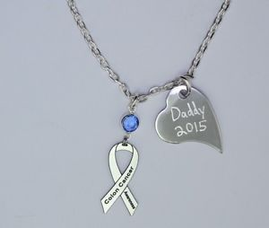 colorectal cancer jewelry