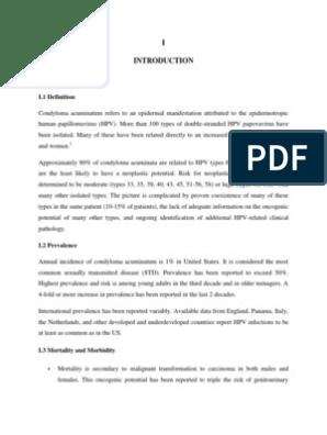 condyloma acuminata risk factors)