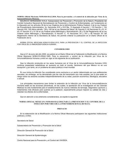 virus papiloma humano norma oficial mexicana papilloma virus su uomo