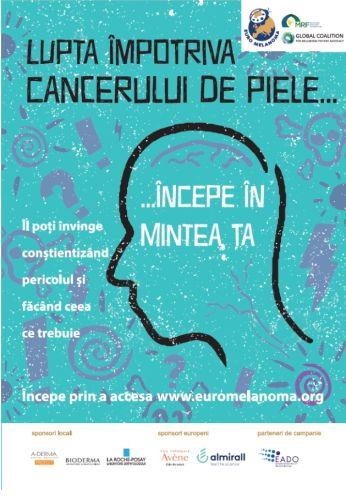 cancer de piele la cap)