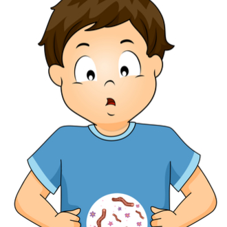 paraziti intestinali la copii)
