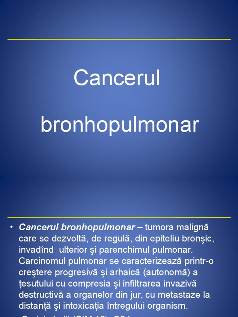 cancerul pulmonar varsta