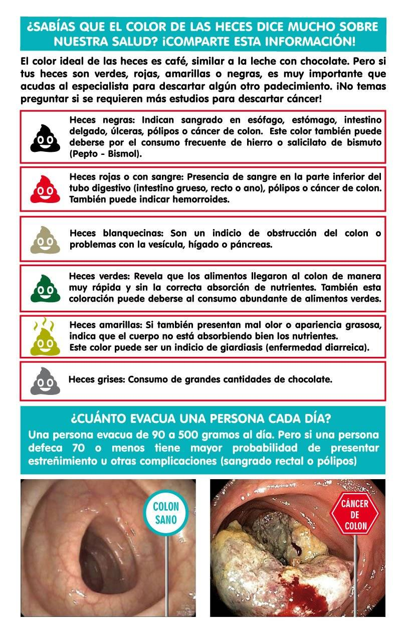cancer de colon heces con sangre)