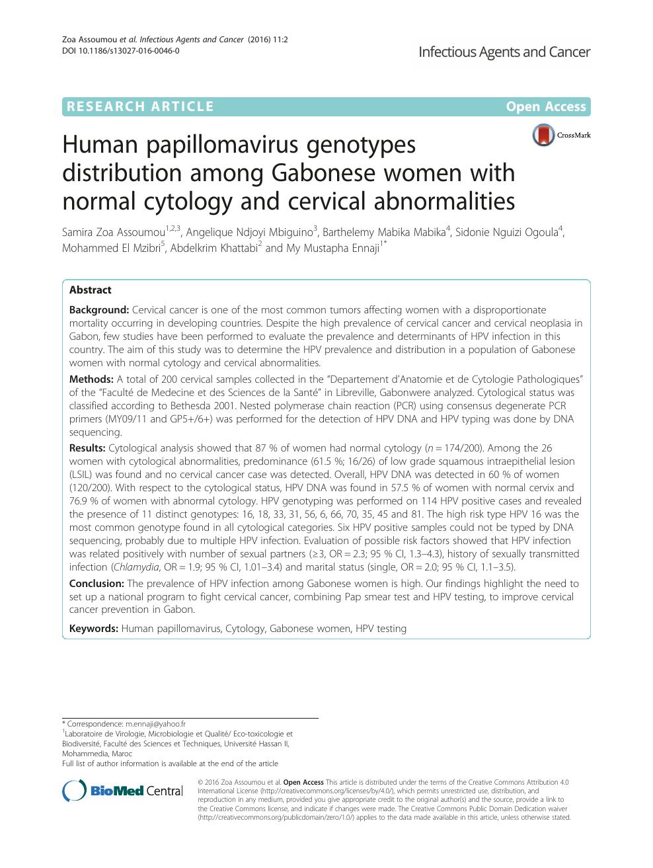 papillomavirus et mst non human papillomavirus