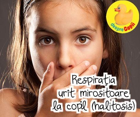 respiratie urat mirositoare paraziti