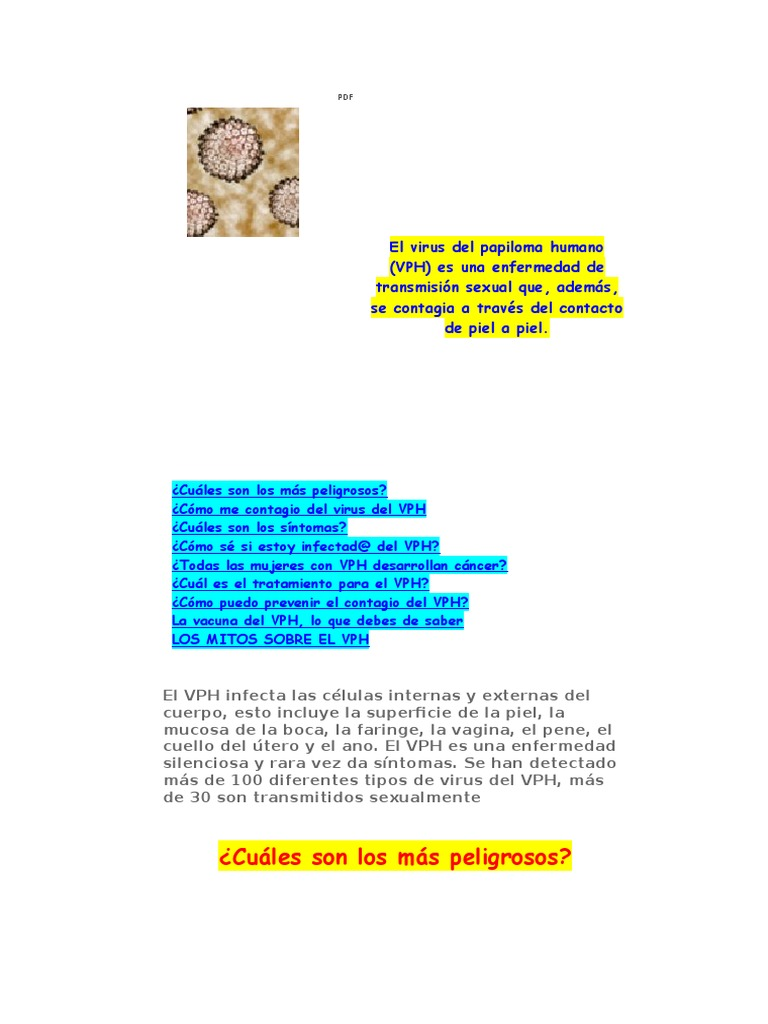 virus de papiloma humano maligno