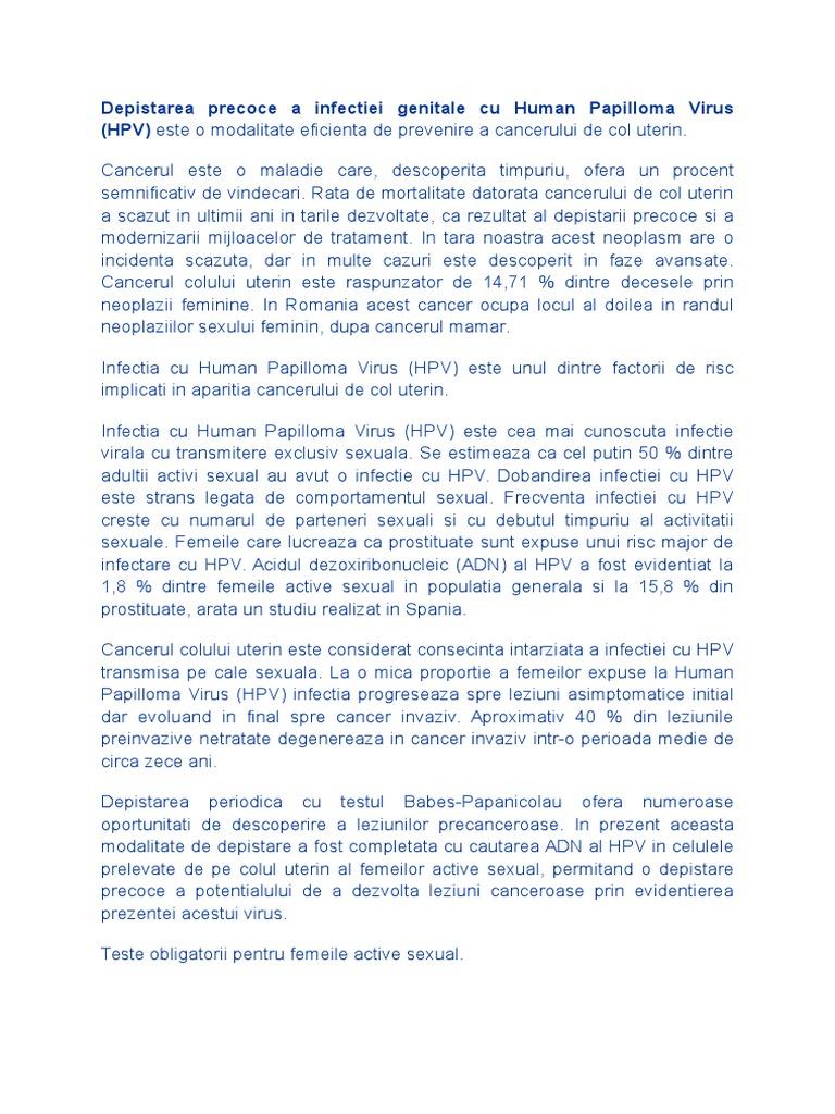 HPV (Human Papilloma Virus) | ARAS – Asociatia Romana Anti-SIDA
