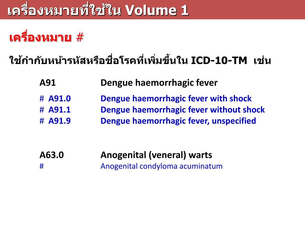 condyloma acuminata icd 10