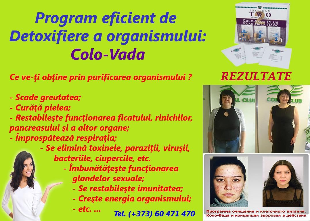 program dezintoxicare)