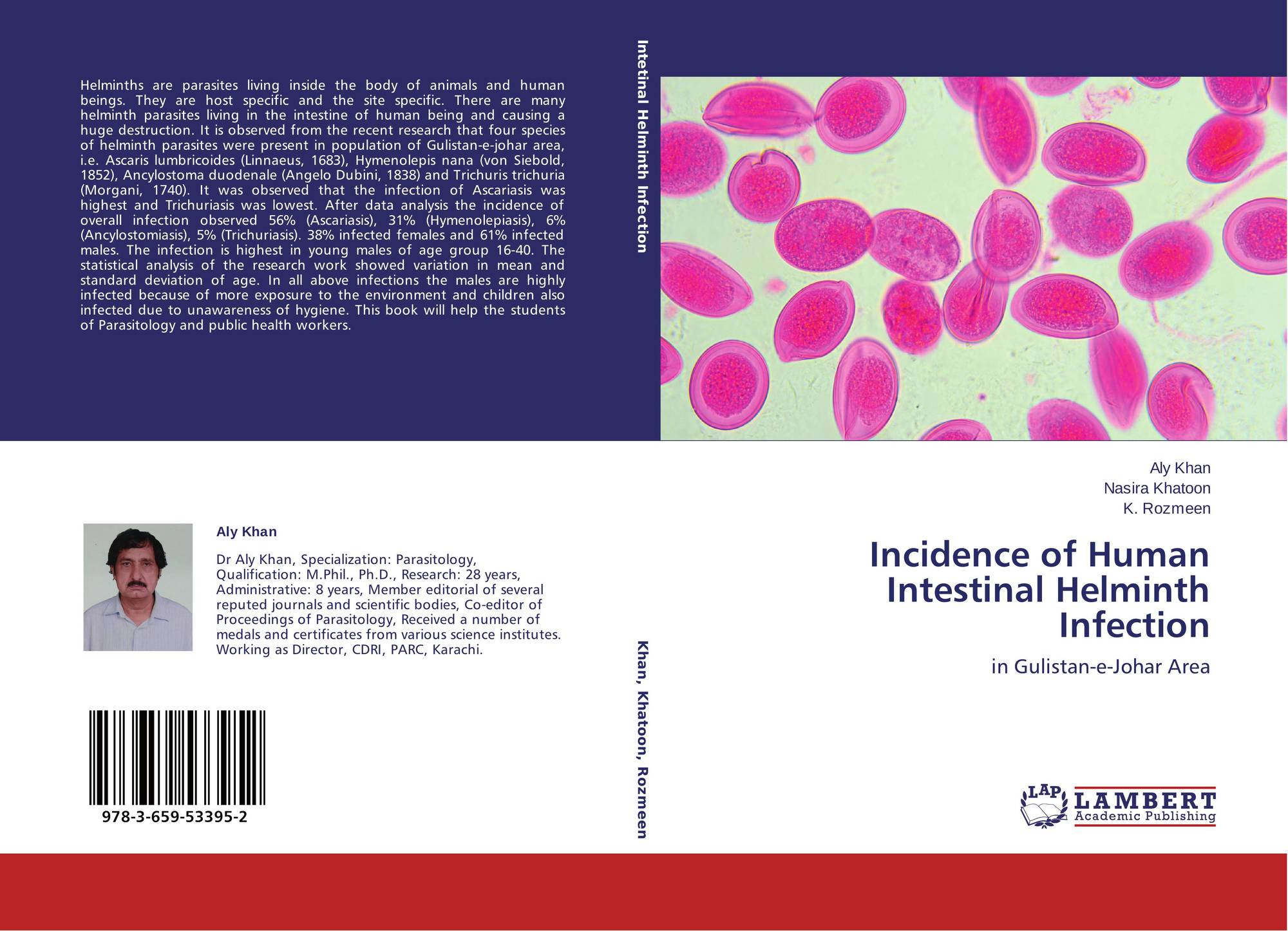 helminth infection incidence