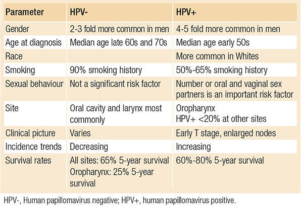 human papillomavirus risk factors)