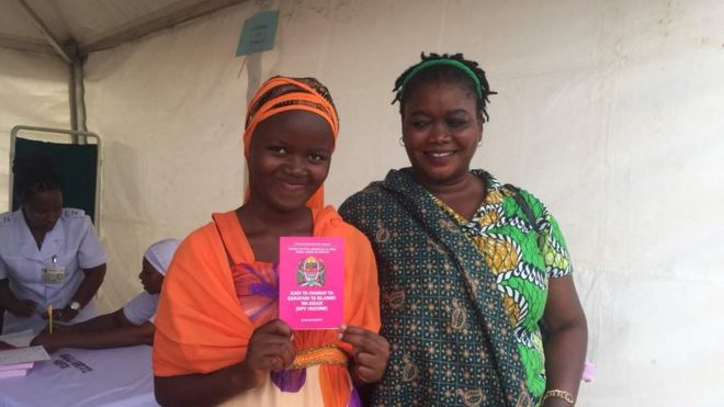 human papillomavirus vaccine in zambia