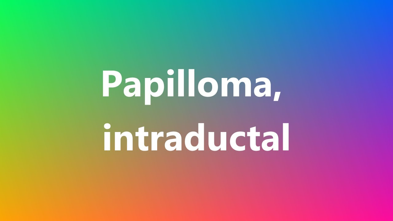 papilloma definition medical)