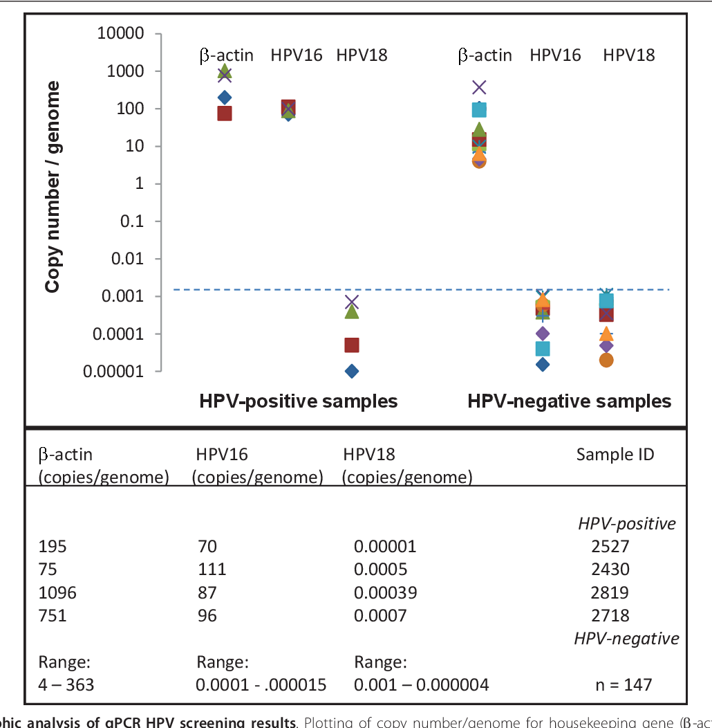 risk human papillomavirus detection)
