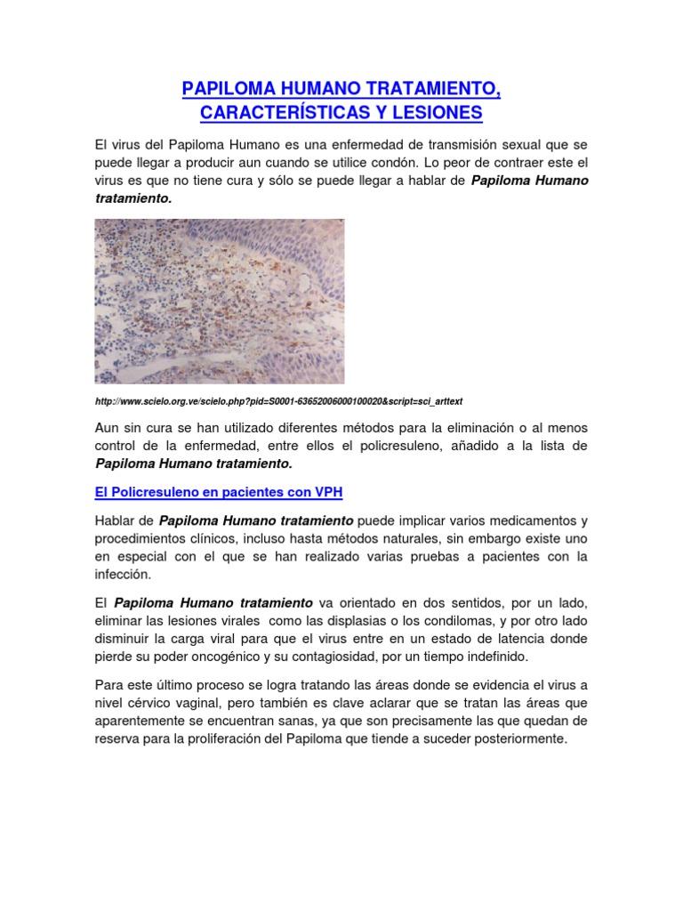 virus del papiloma humano tratamiento peru reteta smoothie pentru detoxifiere