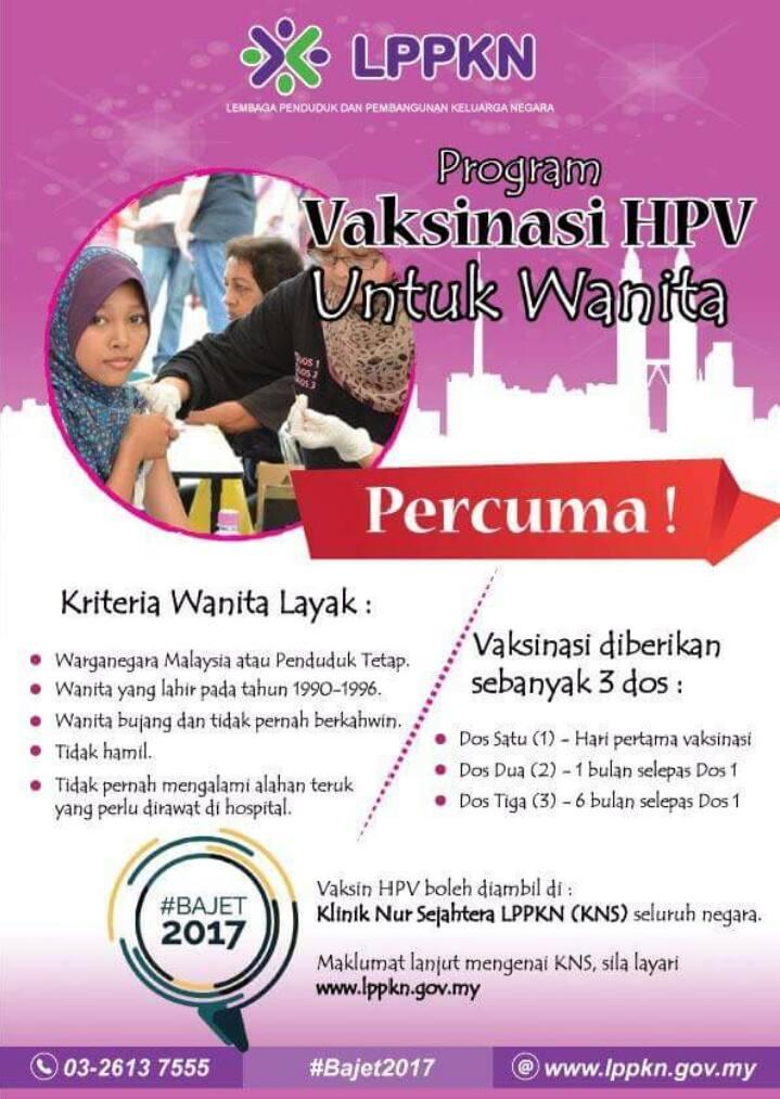 hpv vaccine malaysia 2019)