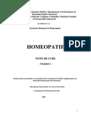 paraziti intestinali homeopatie)
