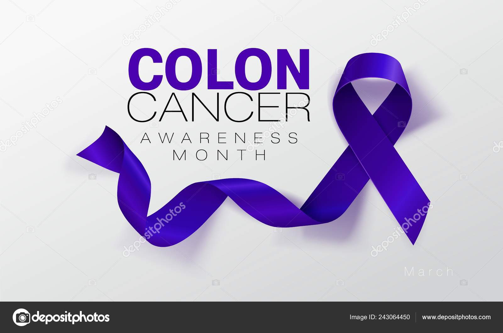 cancer colon color