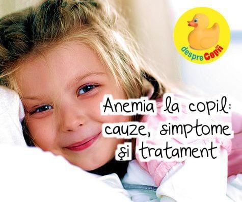 pt anemie la copii)