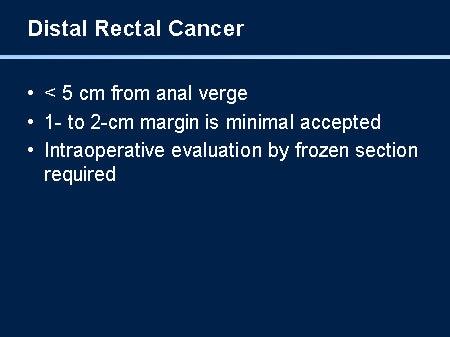 cancer rectal ppt)