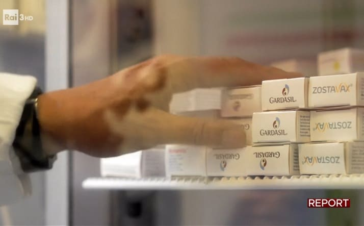 vaccino papilloma virus report)