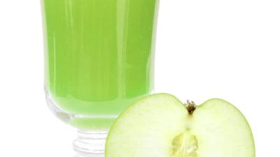 detoxifiere cu sare amara si suc de mere