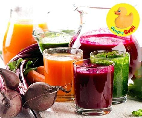detoxifiere cu suc de morcov toxine johan vandevelde