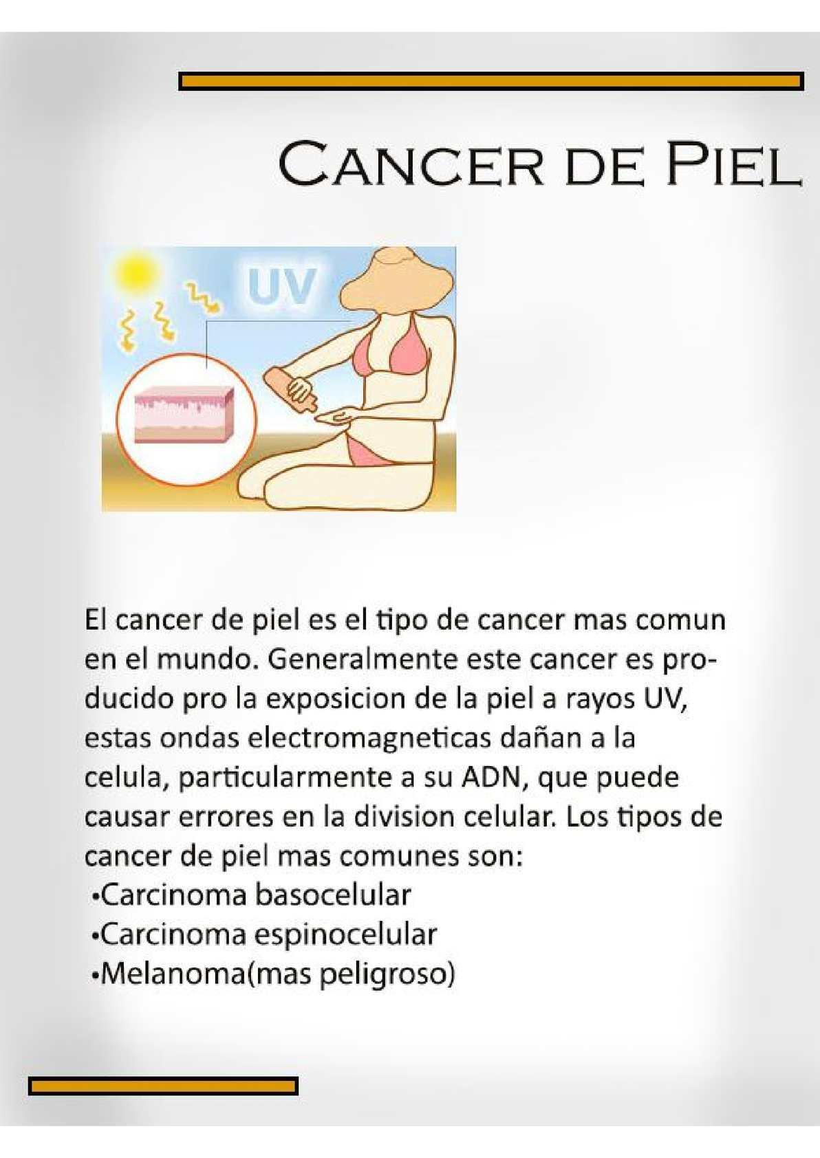 que cancer es mas peligroso