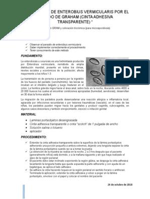 enterobius vermicularis gpc)