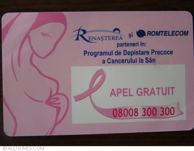 cancerul de san romania)