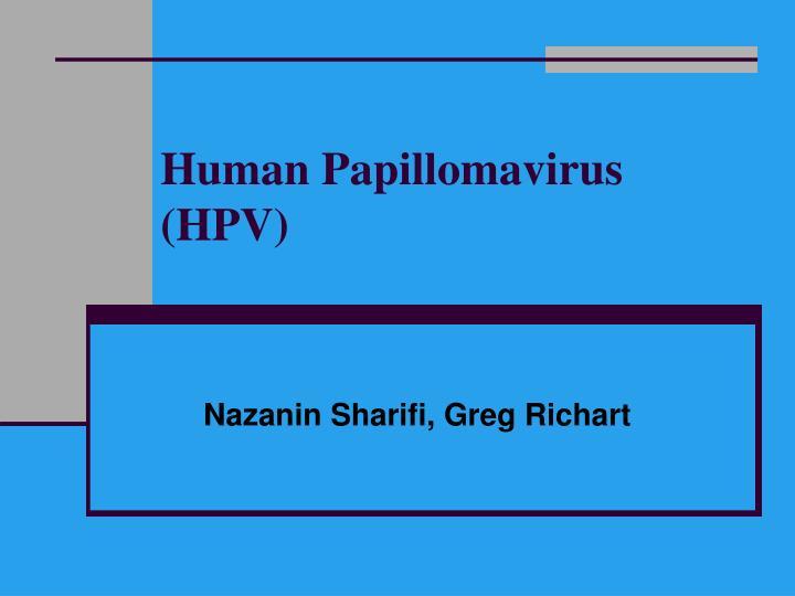 human papillomavirus infection ppt