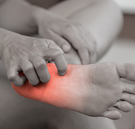 wart on foot burning sensation)
