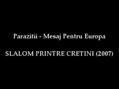 parazitii - mesaj pentru europa)