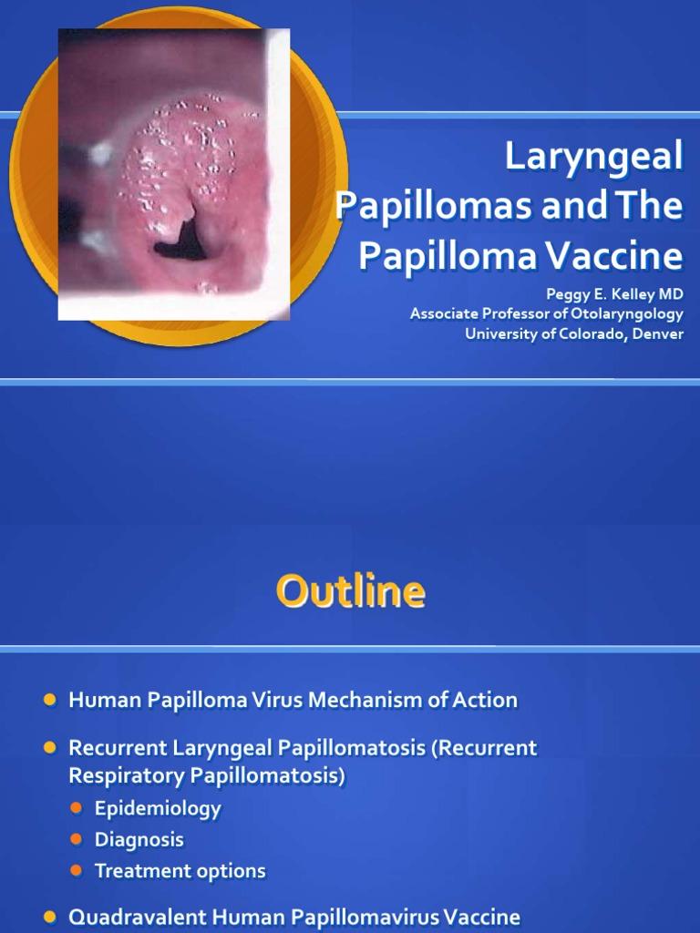 respiratory papillomatosis mechanism detoxifiant alcool