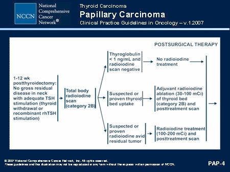 papillary thyroid cancer guidelines)
