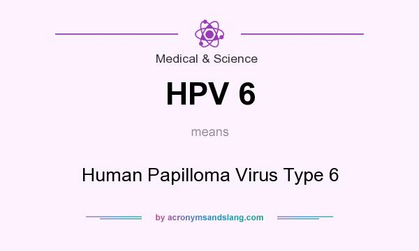 papilloma virus 6