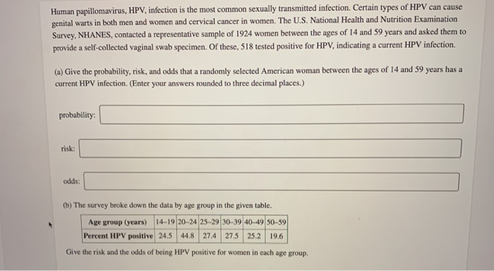 genital human papillomavirus is the most common sexually transmitted infection)