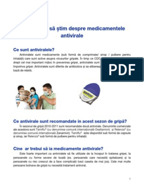 Medicamente antivirale exemple  asspub.ro