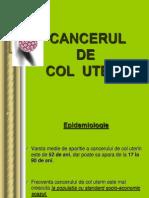 cancer de col uterin recidivat)