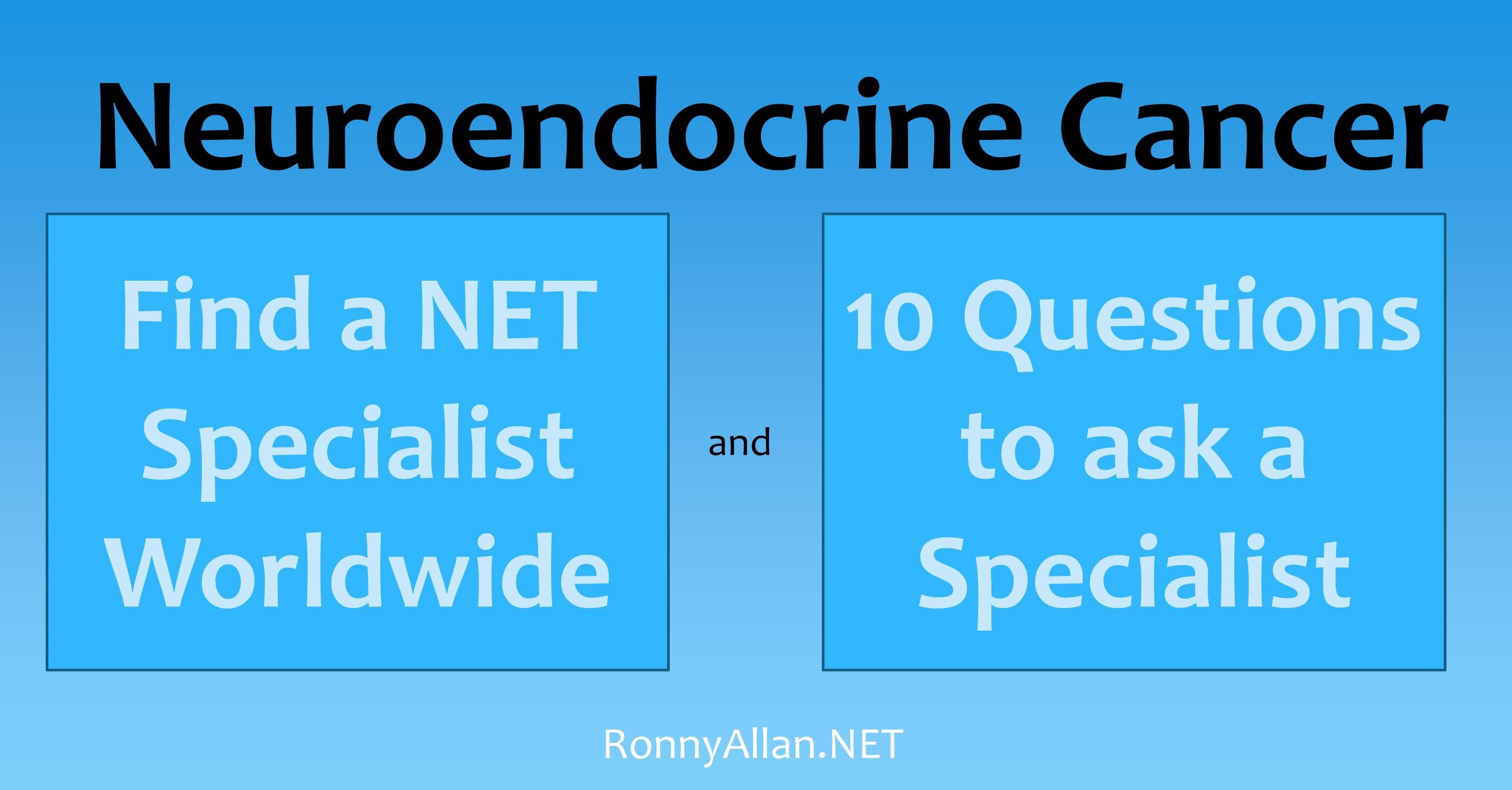 neuroendocrine cancer hospitals
