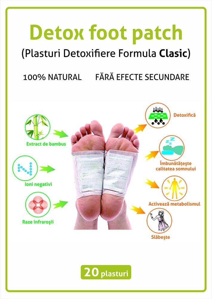Plasturi pentru detoxifiere (pentru talpi) - Cum actioneaza si o reteta DIY