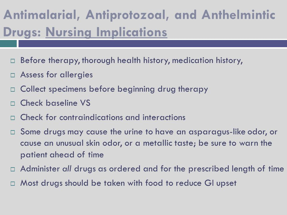 antiprotozoal and anthelmintic