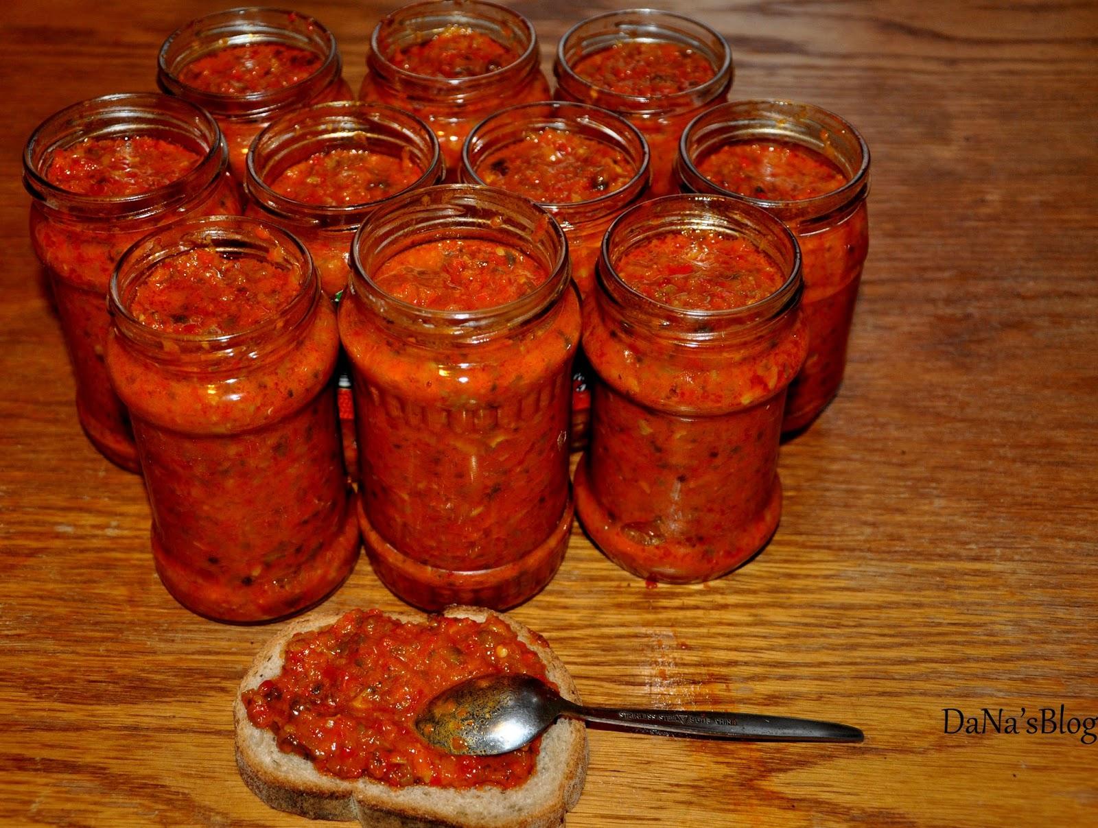 Zacusca de ciuperci - Retete Culinare cu Gina Bradea