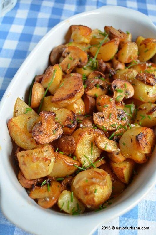 ciuperci a cuptor)