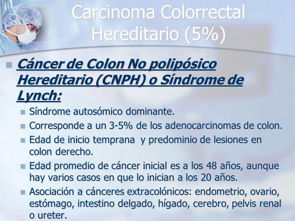 cancer de colon no poliposico