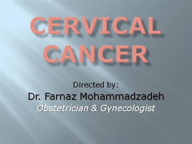 cancer cervical ppt)