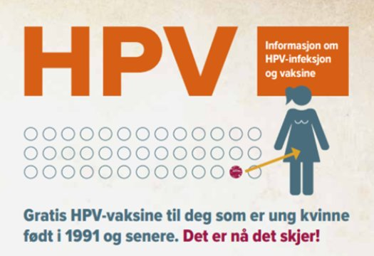 hpv vaksine stavanger)